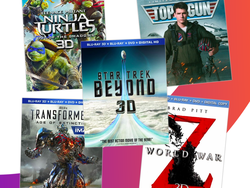 Add some blockbusters to your 3D Blu-ray collection for $10 each