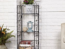 Put this $18 Amagabeli 3 Tier Wire Shelving Unit virtually anywhere