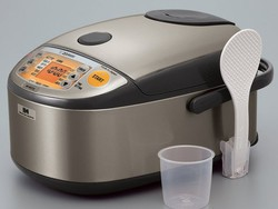 The Zojirushi Induction Heating System Rice Cooker and Warmer is now $201