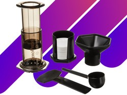 Recover from late night gaming sessions with this $25 Aeropress coffee maker