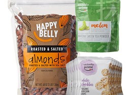 Select Amazon Happy Belly & Wickedly Prime snacks are on sale right now