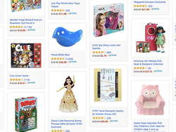 Amazon Prime members can save up to 40% on toys from dolls to board games