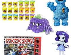 Keep the kids entertained with this one-day sale on toys from Hasbro, Play-Doh, and more