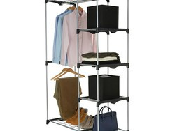 Not enough storage space? Make your own with this $22 AmazonBasics freestanding closet