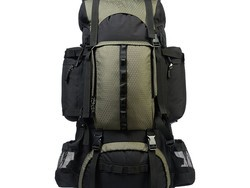 This AmazonBasics Internal Frame Hiking Backpack is down to only $40