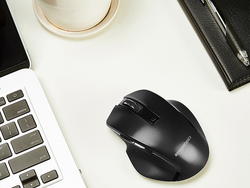 Click around on the net with the AmazonBasics Compact Wireless Mouse for less than $10