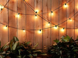 Keep the party lit with these $10 AmazonBasics patio lights