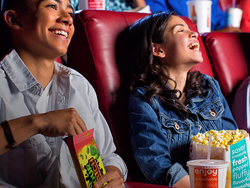 Save on your next trip to AMC theaters with a free large popcorn, soda, and movie ticket