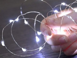 Shed some light with these $15 Amir Solar Powered String Lights