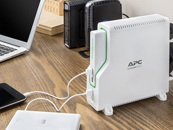 This $35 APC Back-UPS protects and charges your electronics on-the-go