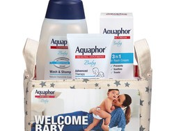 Soothe angry skin with over 25% off this Aquaphor Baby Welcome gift set