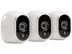 Keep an eye out around the house with the Netgear Arlo 3-camera security system at its lowest price to date
