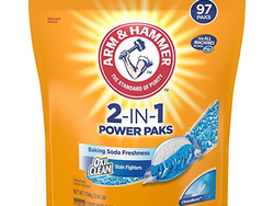 Get 97 loads of laundry done for $7 with these Arm & Hammer Laundry Detergent Power Paks