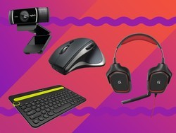 Save up to 50% on various Logitech PC accessories today only