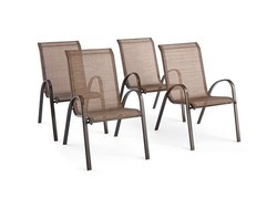 These $60 patio chairs are quite comfortable, and weather-resistant