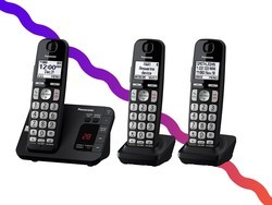 Leave the cords behind with Panasonic's discounted cordless phone system