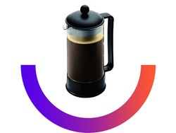 Bodum's $10 coffee maker lets you start your day with a cup of French press
