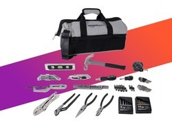 The AmazonBasics $24 Home Repair Kit is full of tools to get the job done