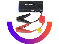The $40 Nekteck jump starter and power bank is good for any emergency