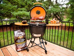 Be the neighborhood's Summer Cookout Hero with the $471 Pit Boss Kamado