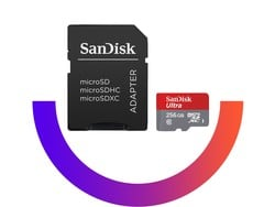 SanDisk's 256GB microSD card is down to just $105, its lowest price ever