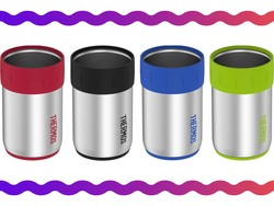 Keep all your drinks cool with this $24 Thermos can insulator four-pack