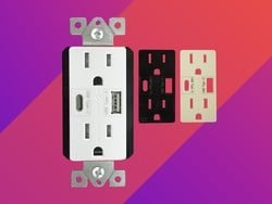 These dual-USB outlets make your regular outlets far more useful