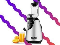 Drink all your fruits and veggies with this $100 Argus Le slow juicer