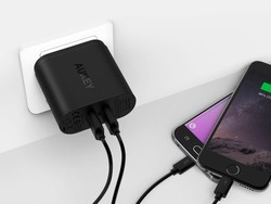 This $11 wall charger has two Quick Charge 3.0 USB ports for fast charging