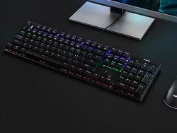 Set up custom lighting effects with this $32 mechanical keyboard for gamers
