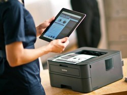 Print wirelessly from your mobile device with this $75 laser printer