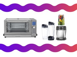 Get a toaster oven or single-serving blender for a really low price