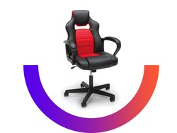 Get this comfortable racing-style gaming chair for just $50