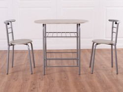 This compact 3-piece dining set by Giantex is now down to $60