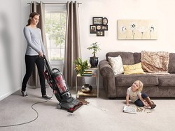 A great vacuum for pets and allergies, the Hoover WindTunnel 3 is only $96