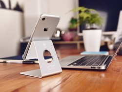 Pick up this universal cell phone stand from Amazon for under $7