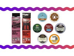 Sample 7 K-Cups for $8 and get an $8 credit towards your next box of coffee