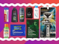 Spend $10 on men's grooming products and get $10 for a full-sized item