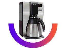 Brew yourself a good cup of joe with this $45 Mr. Coffee 10-cup system