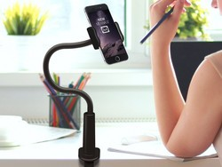 Let the $5 Aduro smartphone stand free up your hands while you work