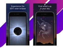Sky Guide iPhone app is free and updated for the 2017 Solar Eclipse