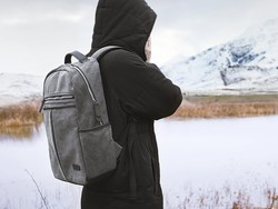 Grab Tomtoc's canvas laptop backpack for just $15