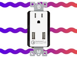 Transform your standard outlet into one with Quick Charge 3.0 USB ports