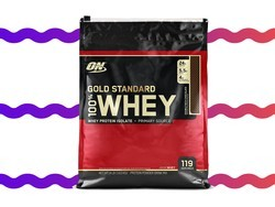 These 8 pound bags of whey protein powder are only $65