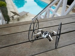 Fly away with Parrot's Rolling Spider Quadcopter for $18