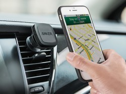 Have a safer drive with the $8 Anker Magnetic Car Mount