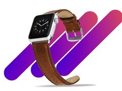 This $8 Apple Watch leather band is good for any occasion