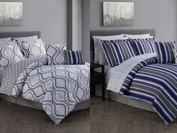 Freshen up your guest room with this $32 12-piece comforter set from Macy's