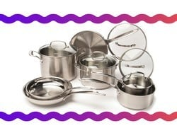 Stock your kitchen with this $130 Cuisinart 12-piece cookware set
