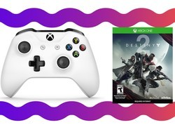 Get an Xbox One controller and Destiny 2 bundled for $76